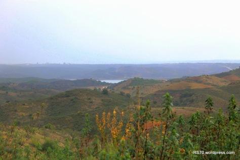 Ao fim de três dias a meta à vista o Rio Guadiana