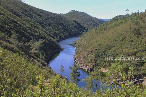 ribeira de Isna perto de Vilar do Ruivo